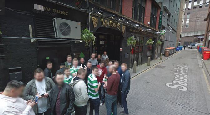 Glasgow pub to host IRA event on day of Old Firm game.