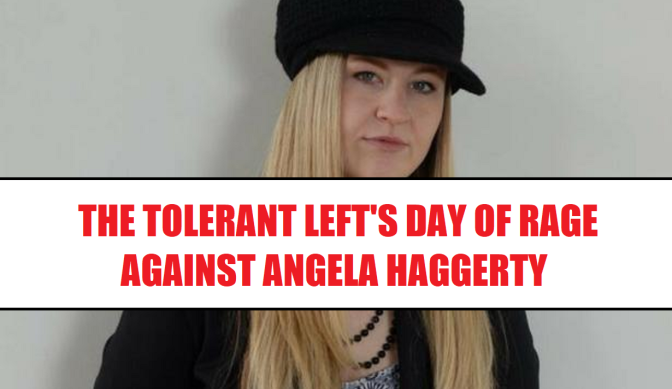 A day of rage against Angela Haggerty