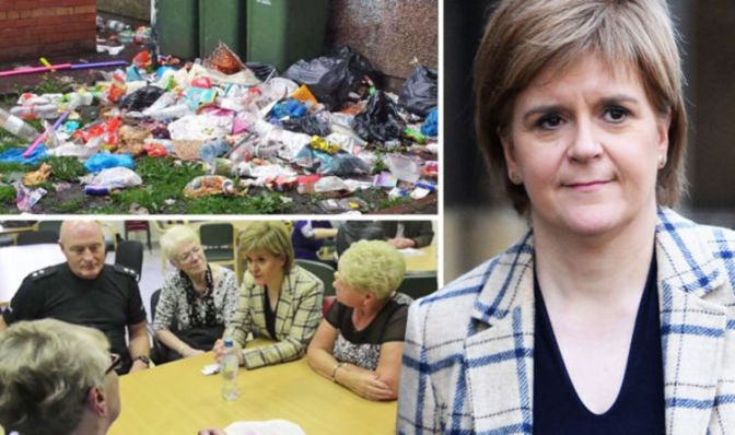 Shocking video sums up the hellhole that is Sturgeon's Govanhill